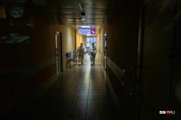 Некоторые тяжелые пациенты умирают в больницах