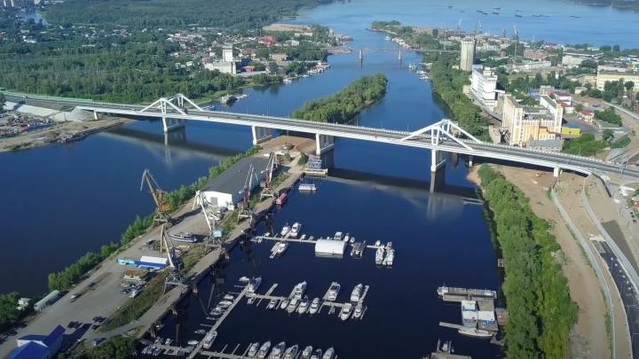 Минтранс оштрафовали за нарушения при строительстве Фрунзенского моста