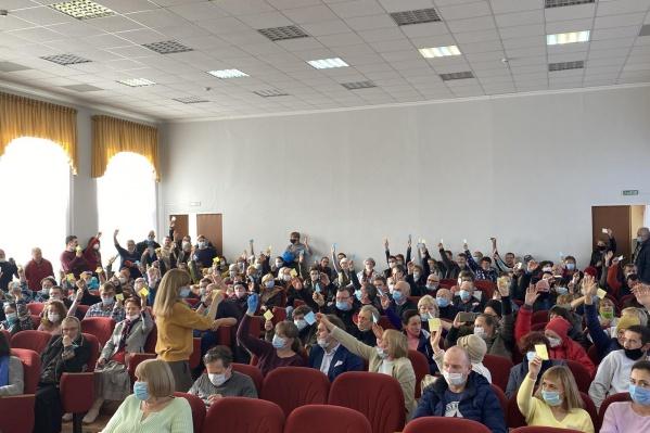 Так проходят публичные слушания в Переславле