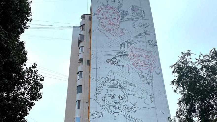 В Самаре появится мурал с изображением артиста Пуговкина
