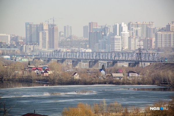 Синоптики утверждают, что над городом поднялось облако пыли