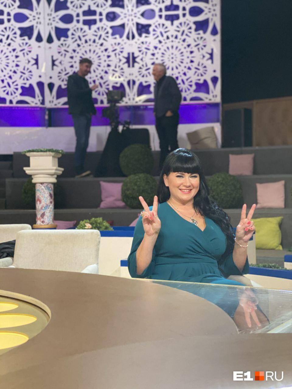 По рассказам Екатерины, студия «Давай поженимся!» в жизни оказалась гораздо меньше, чем выглядит на экранах