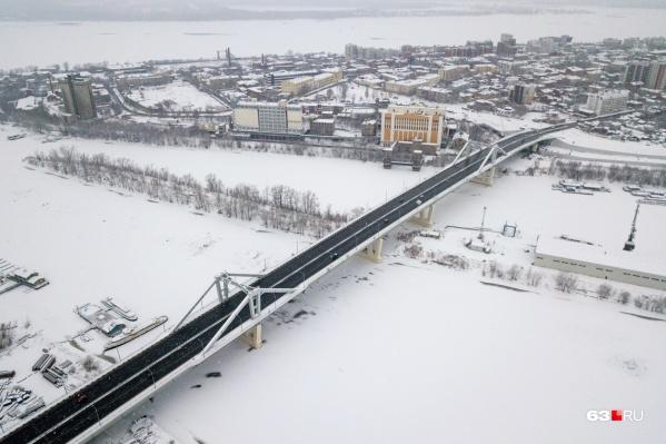 Движение по мосту через реку Самару запустили в декабре 2019 года