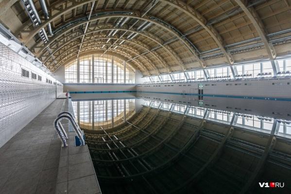 Открытия бассейна волгоградцы ждут уже не первый год