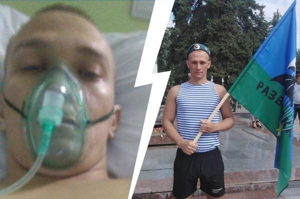 На прошлой неделе Николай Овечкин лег в отделение офтальмологии, а сегодня уже под ИВЛ