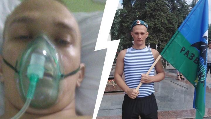«Скажите, что он будет жить»: волгоградец оказался на ИВЛ, после того как лег в больницу из-за проблем с глазами