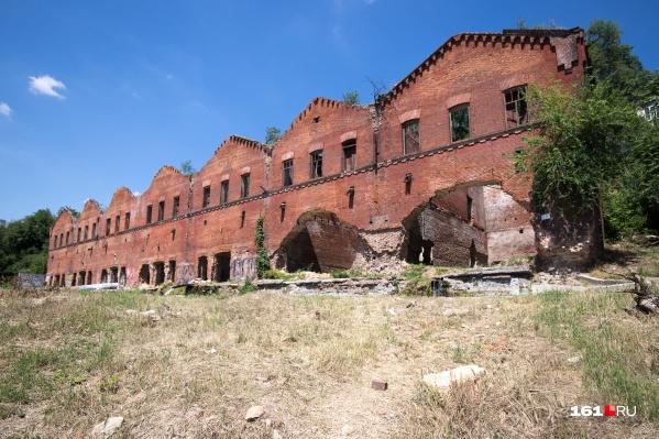 Парамоновские склады — это объект культурного наследия федерального значения
