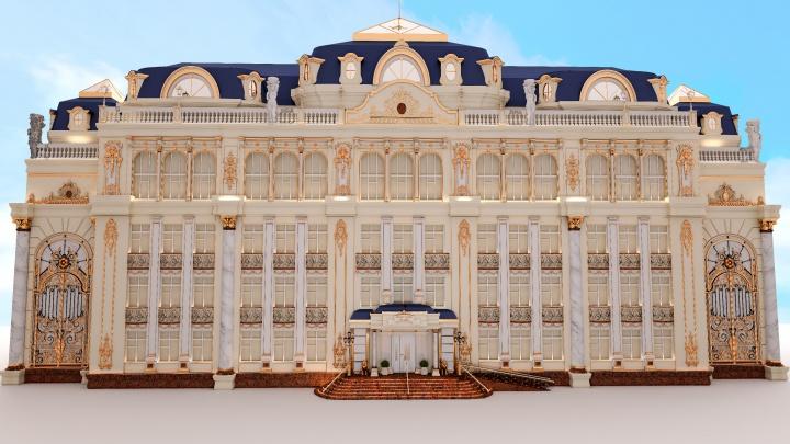 Зажмурьтесь, будет ярко! Публикуем проект будущих интерьеров «золотой» школы Симановского