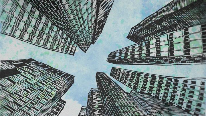 В Екатеринбурге построят четыре стометровые жилые башни