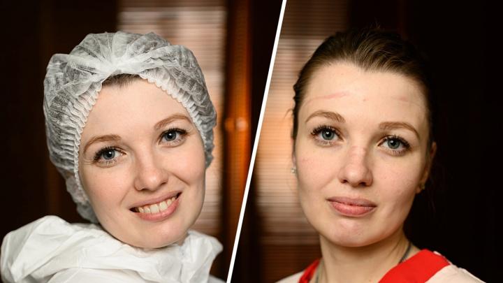 «Пациенты не узнают нас в лицо». Врачи показали, как выглядят до и после смены в «красной» зоне — 12 фото