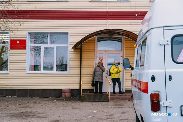 В Тюкалинске, Таре, Калачинске, Исилькуле и Большеречье ковидные госпитали работают с начала ноября