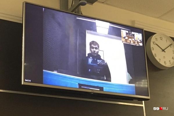 Александр Шабарчин присутствовал на суде по видеосвязи из СИЗО