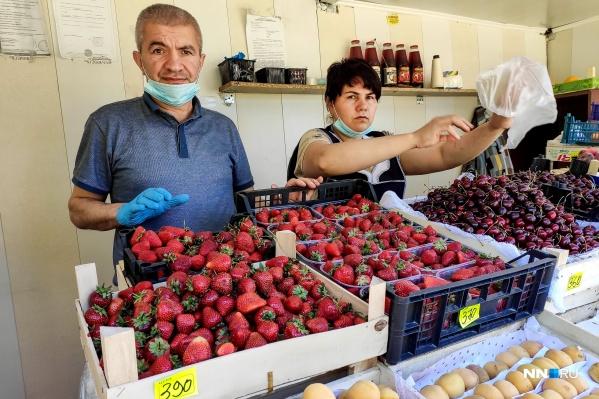 Цены на клубнику в этом году кусаются