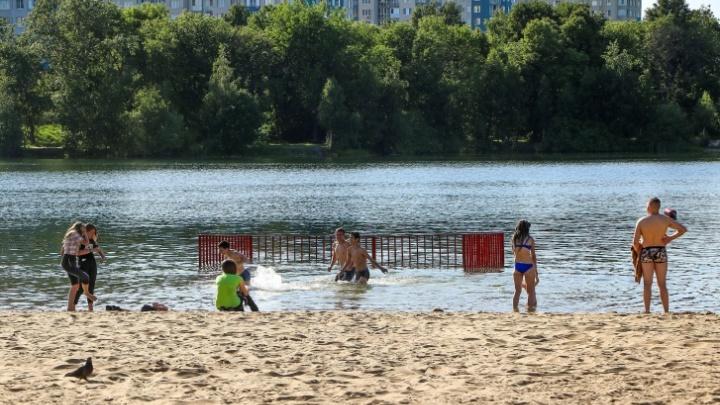В Нижнем Новгороде с 1 июня открываются пляжи. Куда пойти купаться этим летом, смотрите на нашей карте
