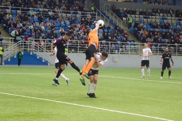 Ярославские футболисты не оставили соперникам надежды на победу
