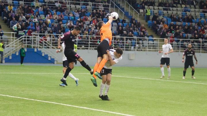 Ярославский «Шинник» в стартовом матче весенней серии обыграл «Енисей»