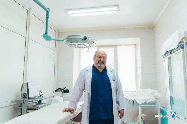 Детский врач-хирургАндрей Писклаков провел сотни операций в центре патологии репродуктивных органов и тазовой хирургии