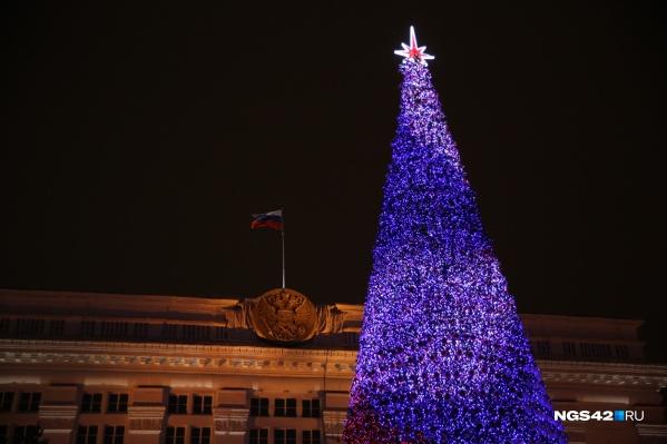 На центральной площади Кемерово в новогоднюю ночь будет праздничная программа