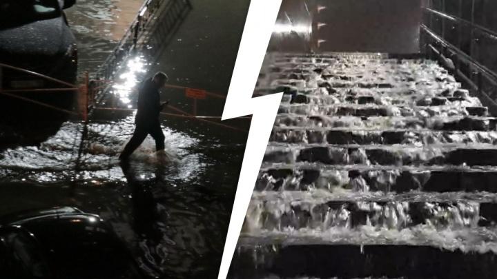 Моря, фонтаны и реки: 10 самых эпичных фото и видео затопленного Екатеринбурга