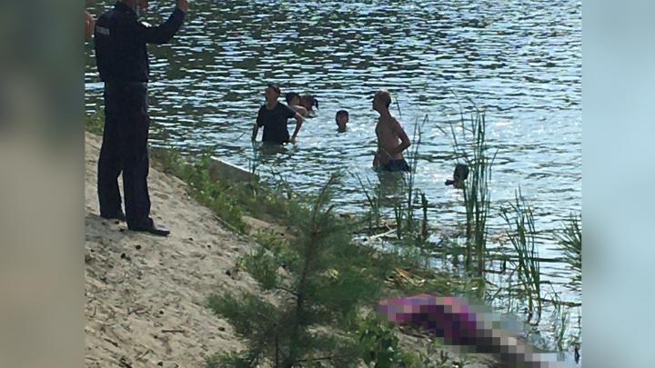В Кургане на «Голубых озёрах» утонул мужчина