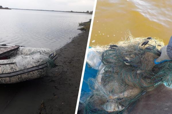 Мужчина наловил рыбы больше чем на 100 тысяч рублей