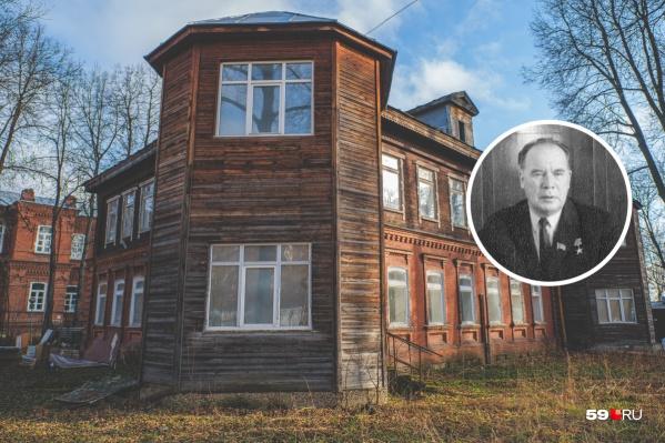 Директор Мотовилихинских заводов Виктор Лебедев жил в доме на КИМ около десяти лет