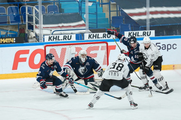 Сегодня черно-белые играли в Татарстане