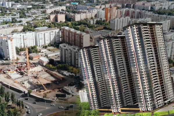 В домах будет по 32 этажа