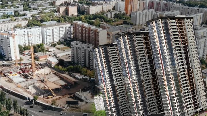 На Антонова-Овсеенко заложили фундамент 32-этажных домов