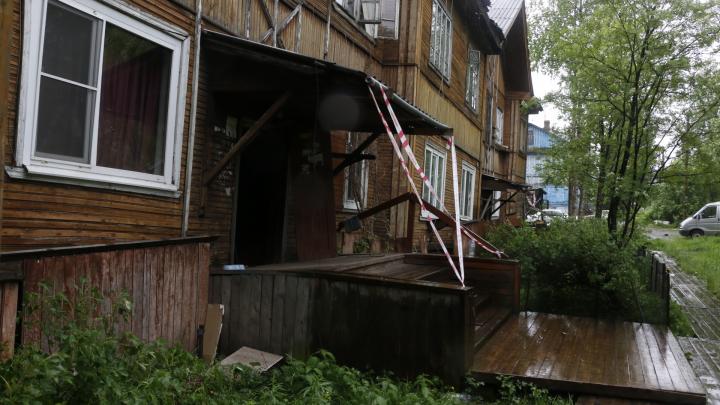 «Первый канал» приехал в Архангельск снимать передачу о ветхих домах