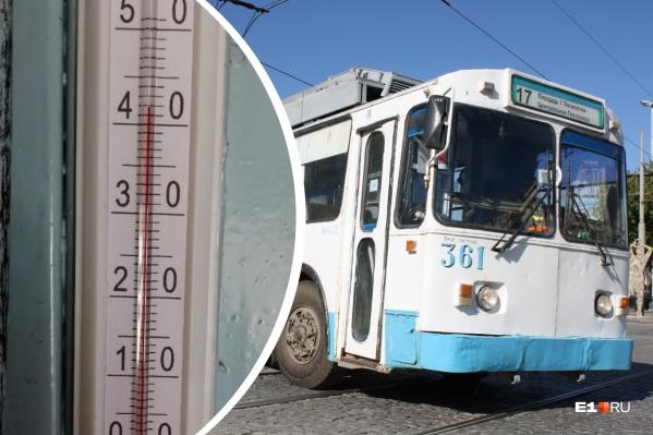 Термометры зашкаливают в кабинах, но сделать с этим ничего нельзя
