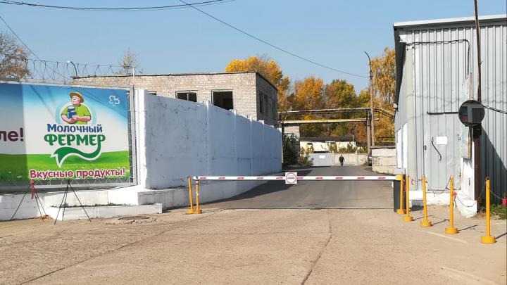 К предприятию Уфагормолзавод проложили новую асфальтированную дорогу