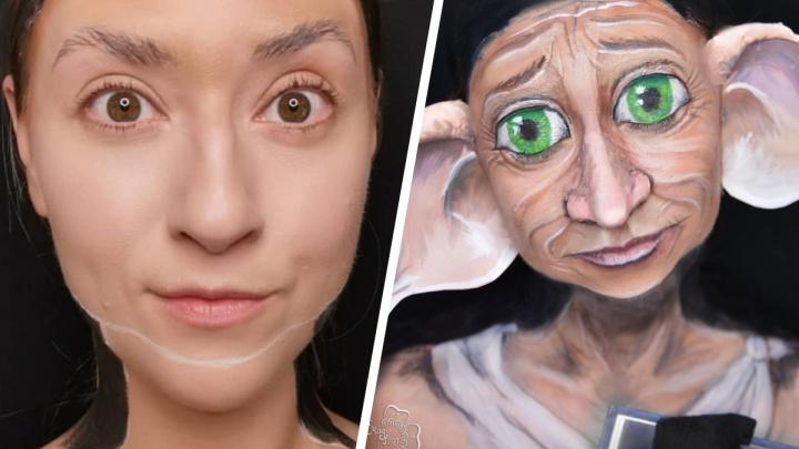 «Добби свободен»: ярославская художница перевоплотилась в известного персонажа из «Гарри Поттера»