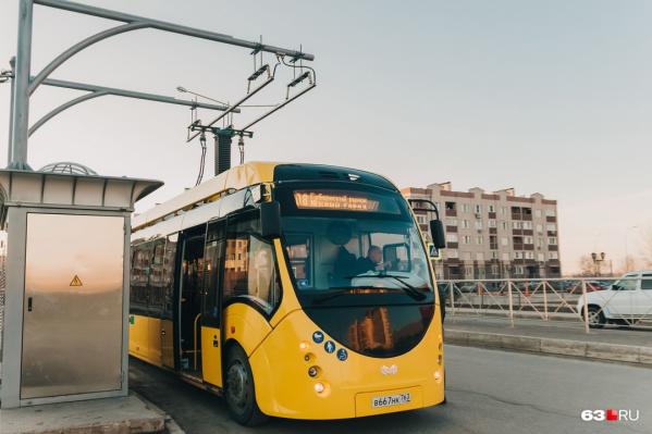 Транспорт работал в областной столице с февраля