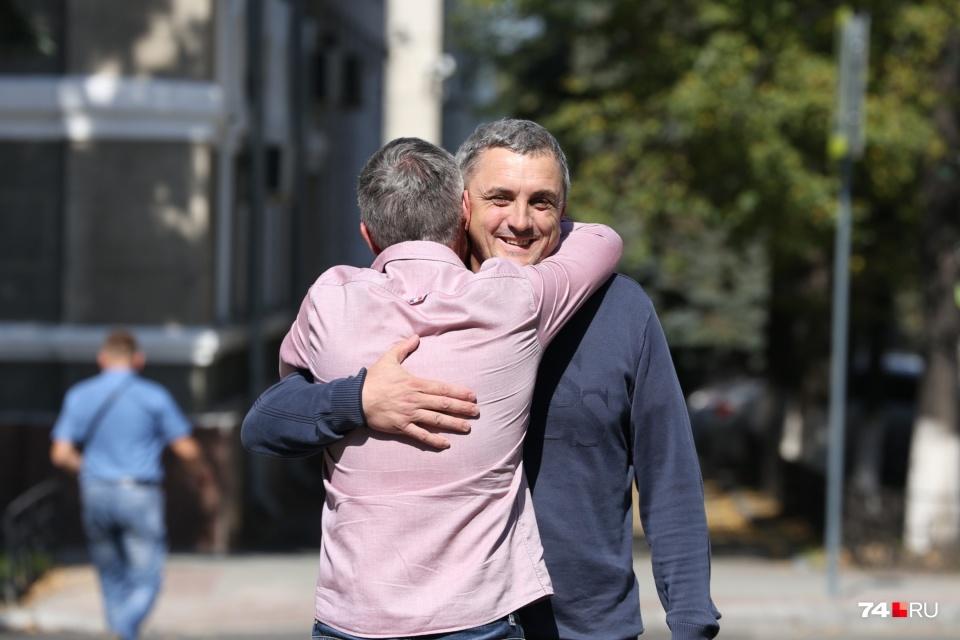 Владимир Казанцев в день оглашения решения суда о мере пресечения: его поместили под домашний арест