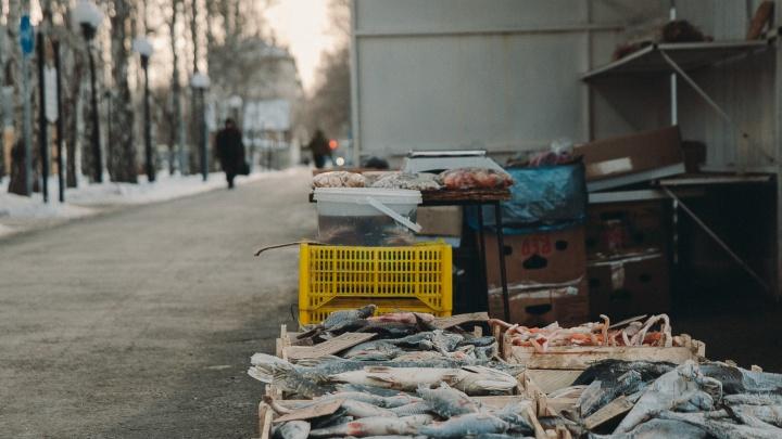 Уличные торговцы фруктами и рыбой отдадут Тюмени два с половиной миллиона рублей