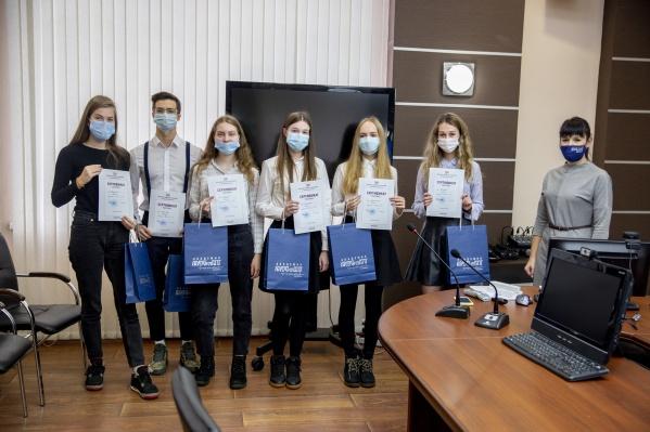 Студенты академии приняли участие в деловой игре