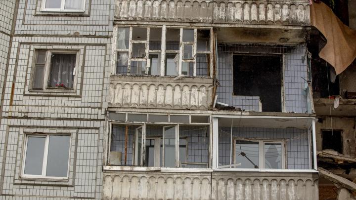 Жителей взорвавшегося дома на улице Батова расселят в съёмные квартиры