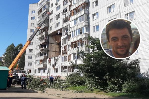 Михаил Тимохин с тремя мужчинами вывели из пострадавшего подъезда нескольких жильцов до того, как рухнули перекрытия