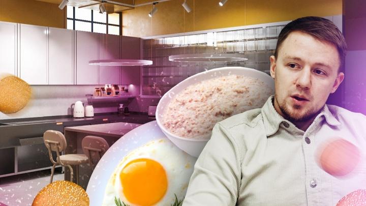 Будут кормить завтраками весь день: тюменец рассказал об открытии необычного кафе в пандемию
