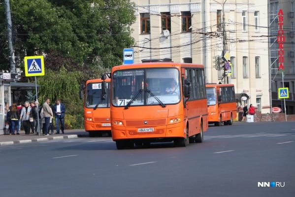 «Желтый бампер» на городских улицах заменили автобусы большой вместимости НПАТа
