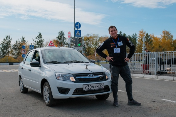 В соревнованиях участвовал новосибирец Виталий Полищук