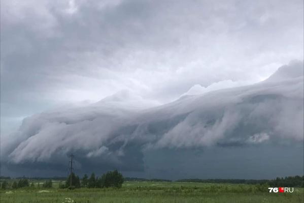 Погода в Ярославской области может испортиться внезапно— в любой момент