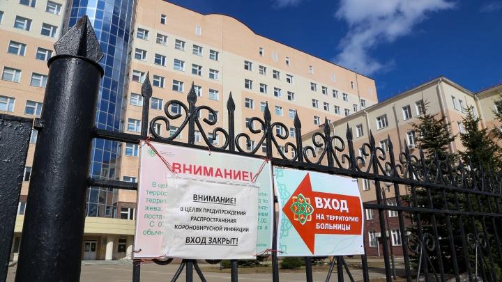 В реанимации РКБ имени Куватова находятся пять пациентов, трое — на ИВЛ