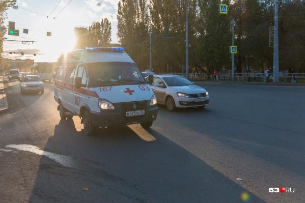 Несколько человек отправили в больницу