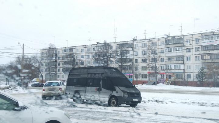 При пожаре на подземной парковке в Челябинске пострадали несколько маршруток