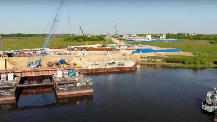 В Самарской области утвердили проект планировки территории моста через Волгу у Климовки