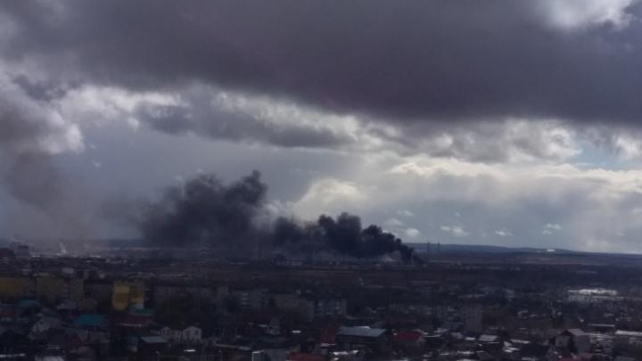 На ПНОСе рассказали подробности пожара на предприятии