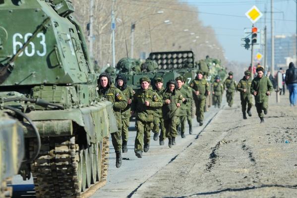 Вспышка произошла на территории 32-го военного городка