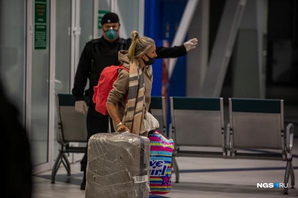 Большинство пассажиров самолёта — жители Новосибирской области